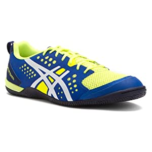 Asics Men's Gel-Fortius TR Training Shoe,Flash Yellow/White/Royal Blue,15 M US