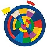 GoKi Wooden Mosaic Circle Puzzle