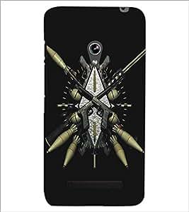 ASUS ZENFONE 5 EXPLOSIVES Designer Back Cover Case By PRINTSWAG