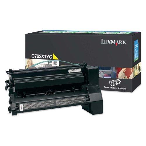 Lexmark Toner für C782 Kapazität 15.000 Seiten Gelb