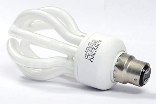 Sunsumo-Lotus-25W-B22-CFL-Bulb-(White)