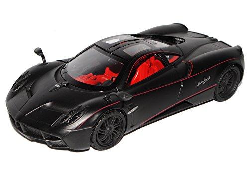 pagani-huayra-coupe-matt-schwarz-tuning-1-24-motormax-modell-auto