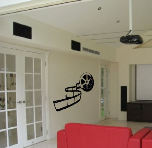 Movie Reel Theater Vinyl Wall Art Sticker Decal Decor Theatre