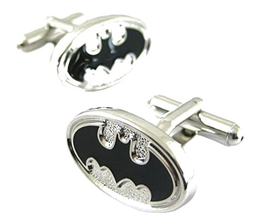 DC-Comics-Batman-Logo-Wedding-Groomsman-Cufflinks-Cuff-Link-Set-Pair-with-Gift-Box-By-Athena-Sales