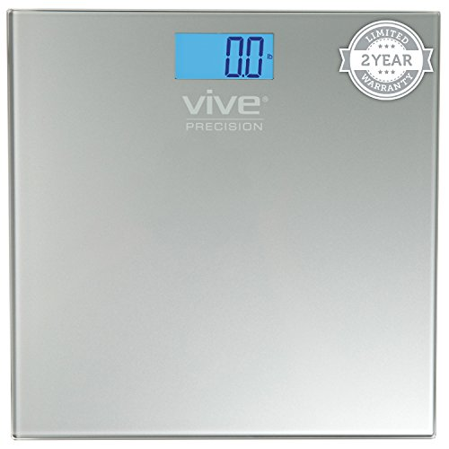Digital Bathroom Scale by Vive Precision - Best Selling, Accurate