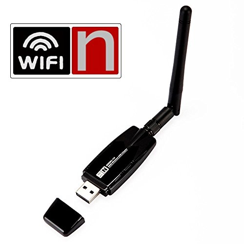 Inamax 300Mbps Wireless N USB Network Adapter WIFI Dongle for PC with  Windows XP/ Vista/7/8/8 1/10, Linux, Mac OS