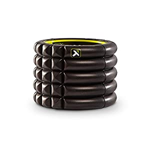 Trigger Point Performance Grid Mini Compact Foam Roller, Black