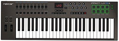 Nektar-Impact-LX49-Teclado-MIDI-USB-Controlador-con-integracin-DAW