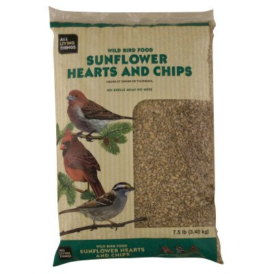 Cheap All Living Things Wild Bird Food Sunflower Hearts and Chips (B008DVNYZG)