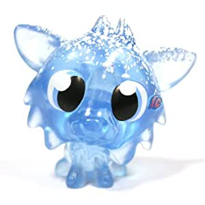 Moshi Monsters Winter Wonderland Moshling Collectable Figure - Blue White Fang #55