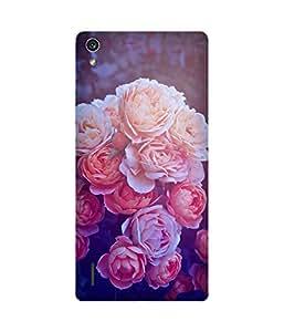 Flower Bouquet Huawei Ascend P7 Case