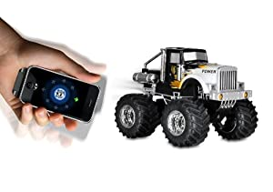 Dexim DXA013B4 AppSpeed Monster Truck for iPhone, iPod Touch & iPad (Black)