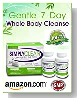 7 Day Premium Whole Body Detox Cleanse & Weight Loss by Simply Clean | TOP SELLING | Complete Diet Program With Probiotics and Detox Herbal Cleanse, Great for Losing Weight and Cleansing Detox System Fast & Healthy