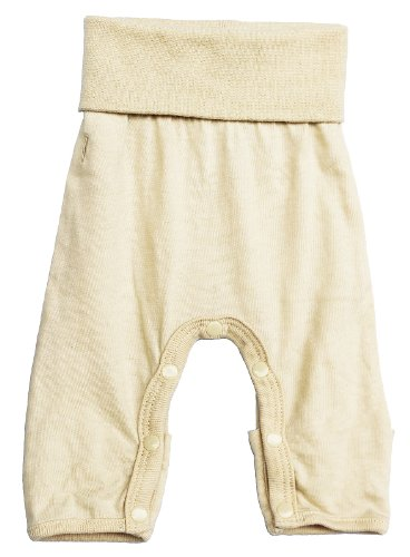 Tamiko Baby Cotton NICU-Approved Preemie Leggings Off-White-1.5-3 lbs-15 in