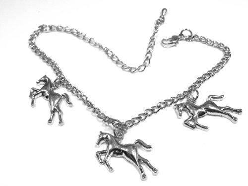 argent-de-couleur-bracelet-de-charme-de-cheval
