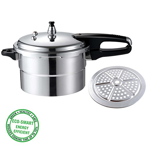 Aluminum Pressure Cooker Size: 4.5-qt (Cheap Pressure Cooker compare prices)