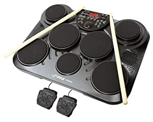 Pyle PTED05 Electronic Tabletop Drum for Dummies