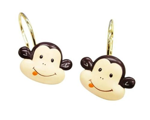 Monkey Shower Curtain Rings