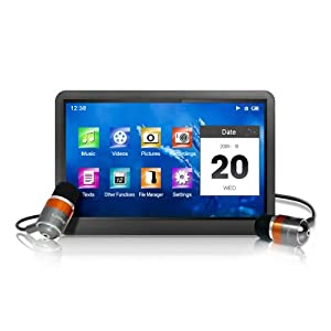 41xE6I6dh5L. SL500 AA300  Latte Café 32 GB Video MP3 Player   $189 With $0 S&H
