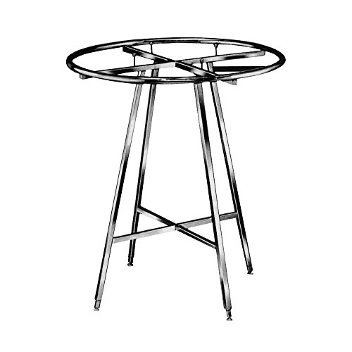 Econoco Round Folding Rack | Durable Adjustable Height | Large 36