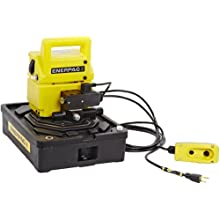 Enerpac PUD-1101B Economy Electric Pump with 4 Liters Usable Oil Capacity and 115 Volt