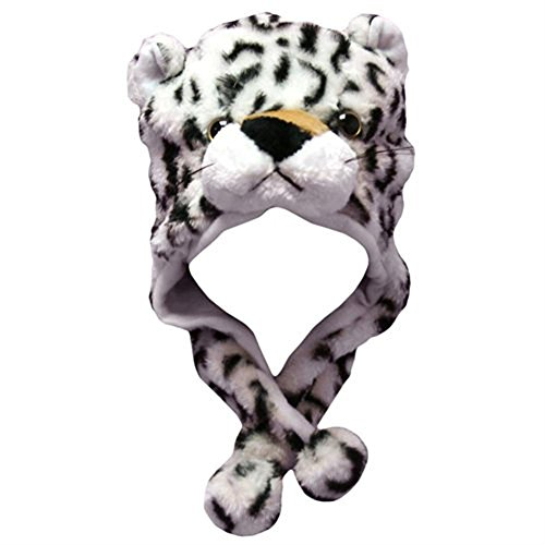 TopTie Party Hats, Animal Costumes Hats, Animal Face - Wild Animal, Penguin, Leopard Hat