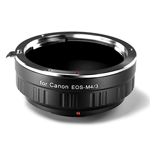 Neewer® Lens Adapter for Canon EOS EF Lens to M4/3 Micro Four Thirds System Camera, M4/3 Micro Four Thirds System Camera such as G1 G2 G3, GF6, GX2, E-P1, and More (Canon Eos Ef Lens To Micro 4 3 compare prices)