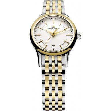 Maurice Lacroix LC1113-PVY13-130 - Reloj para mujeres, correa de acero inoxidable