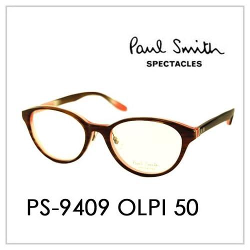 PAUL SMITH ポールスミス  メガネフレーム サングラス 伊達メガネ 眼鏡 PS-9409 OLPI 50 PAUL SMITH専用ケース付 スペクタクルズ