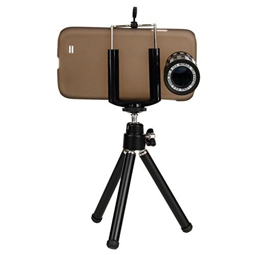 Great Value 12X Zoom Telephoto Lens Telephone Lens With Tripod For Samsung S4 I9500