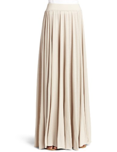 Rachel Pally Womens Seamed Cotton Maxi Skirt