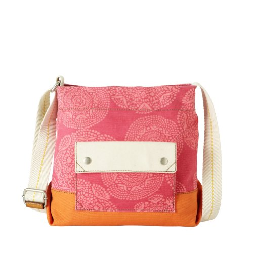Fossil Lena Crossbody in Flamingo Pink