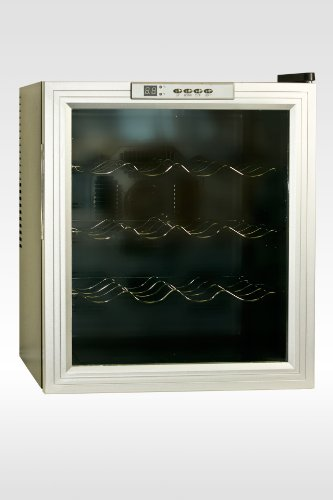 New 16 Bottle Wine Cooler Wine Refrigerator Wine Cellar Digital Display