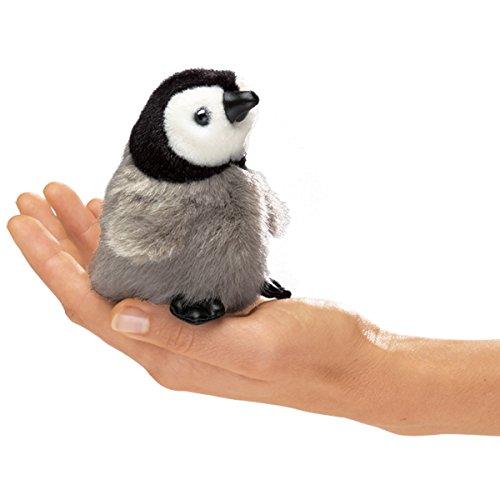 Folkmanis-Mini-Emperor-Penguin-Baby-Finger-Puppet