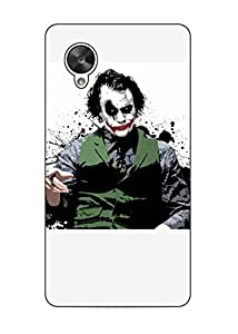 Happoz Google Nexus 5 Cases Back Cover Mobile Pouches Shell Hard Plastic Graphic Armour Premium Printed Designer Cartoon Girl 3D Funky Fancy Slim Graffiti Imported Cute Colurful Stylish Boys D087