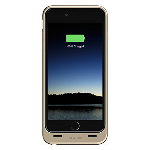 iPhone 6 Plus Battery Case, Mophie [Juice Pack] - 2,600 mAh capacity - Gold