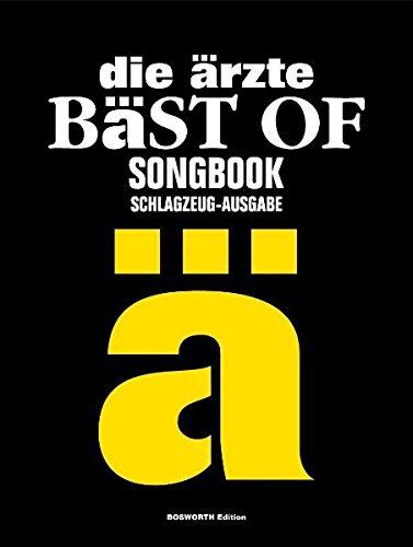 die ärzte: Bäst of Songbook. Schlagzeug-Ausgabe