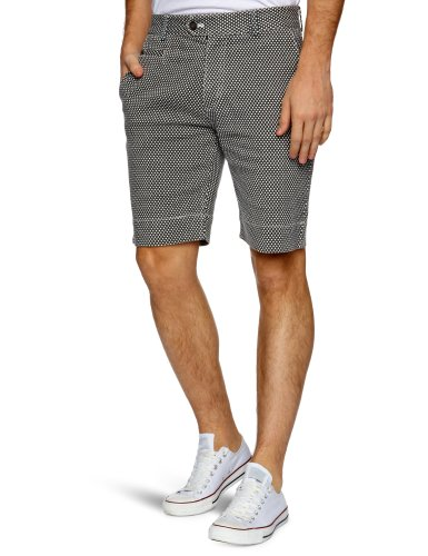 Villain Barron Men's Shorts Black Star Large