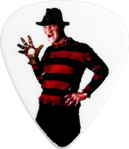 Clayton Nightmare On Elm Street Guitar Picks 6-Pack, White Medium