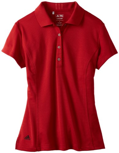 Adidas Golf Youth Climalite Solid Polo