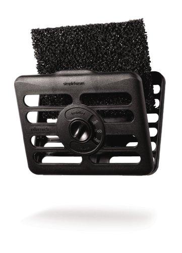 simplehuman-filtro-de-plastico-2-unidades-funcion-absorbe-olores-color-negro
