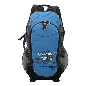 mochilas climbing hiking backpack bagpack sport back bag-Blue: Sports