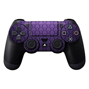 Protective Vinyl Skin Decal Cover for Sony PlayStation DualShock 4 Controller Sticker Skins Antique Purple