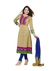 DivyaEmporio Women's Salwar Suit Dupatta Unstitched Dress Material (Free Size) - B00RXERE78