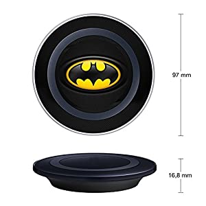 Batman Wireless Charger, Onelee Ultra-Slim Qi Wireless Charging Pad For Samsung Galaxy Note 7 S7 S6 edge plus [Anti-slip][Shockproof] Wireless Charging Pad at Gotham City Store