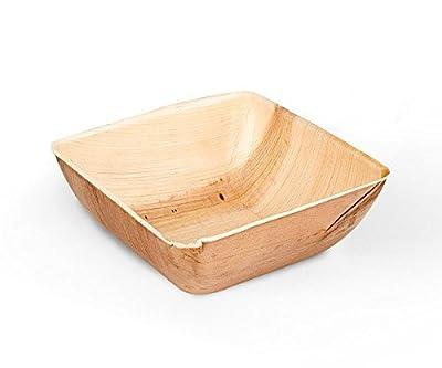 Leafware 6.5 Inch Square Leaf Bowls