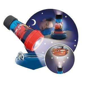lampe de chevet torche veilleuse projecteur 3en1 cars. Black Bedroom Furniture Sets. Home Design Ideas