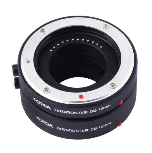 FOTGA Macro AF Auto Focus Extension Tube 10mm 16mm Set DG for Nikon 1 J1 J2 V1