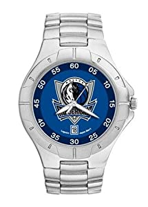 NBA Mens Pro II Bracelet Watch with Full Color Team Logo Dial NBA Team: Dallas... by Logo Art