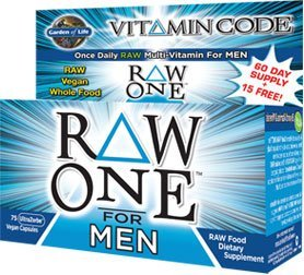 Garden of Life Vitamin Code- Raw One for Men-75 CNT